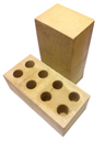 Кирпич №8 Цвет: жёлтый (силикатный утолщённый лицевой упакованный) Марка: м-200 Размер: 250х120х90 На поддоне: 308шт.