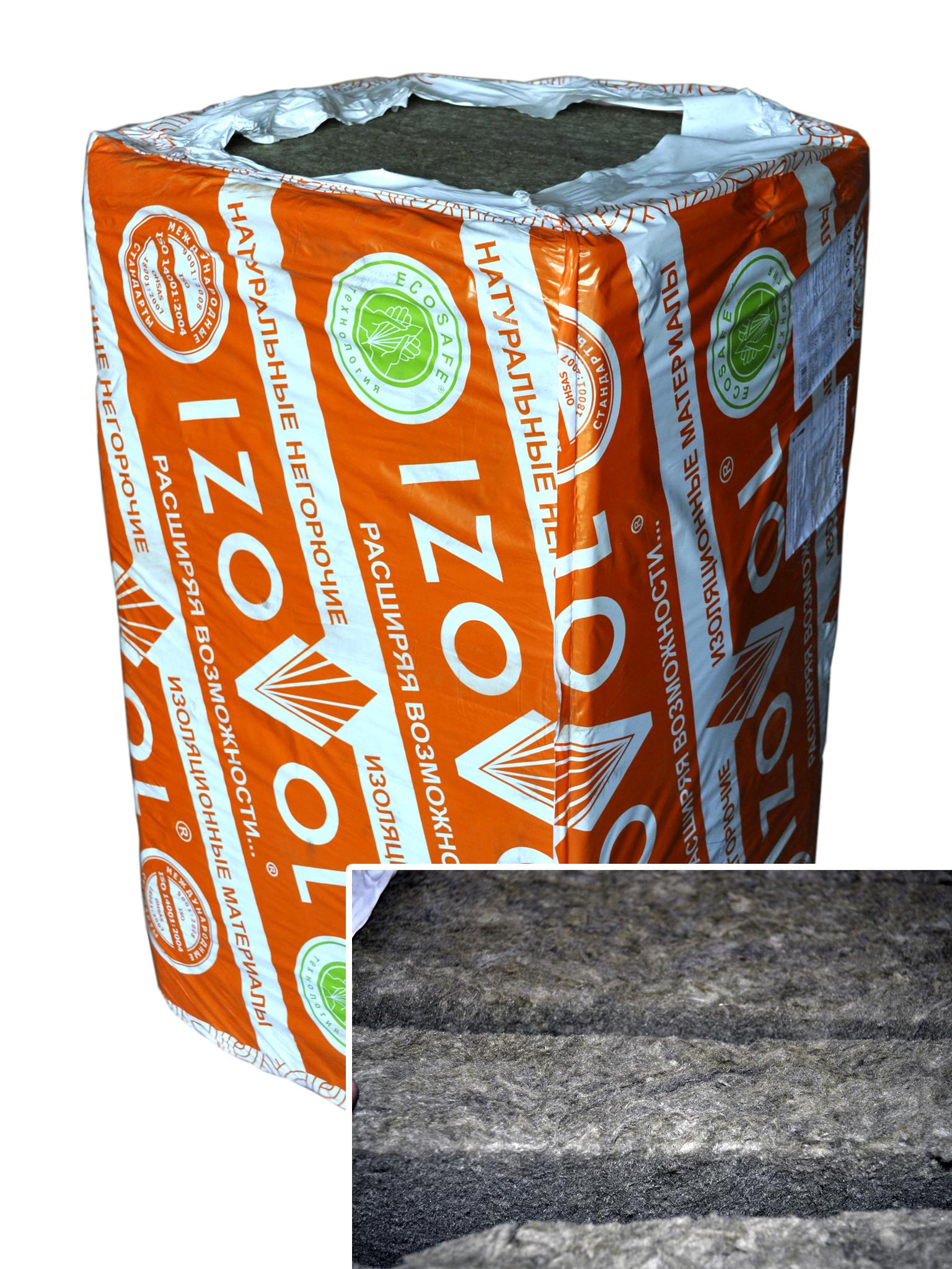 Строительный № 1 | Новошахтинск | IZOVOL(Изовол) - Утеплитель IZOVOL (Изовол) Л-35 1000х600х50 6 м2 0,3 м3 10 шт.  Утеплитель IZOVOL (Изовол) - высококачественные негорючие гидрофобизированные минераловатные плиты на основе базальтовых горных пород предназначены для использования в качестве энергосберегающ