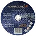 Руссланд 230х1,8х22,2 круг отрезной по металлу A30TBF 6600 об/мин ГОСТ 21963-2002