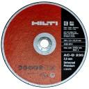 Хилти 230х2,5х22,23 круг отрезной по металлу A60SBF41 6650 об/мин ГОСТ 21963-2002