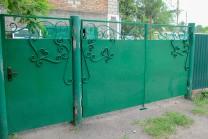 Главная → Металлоизделия → Ворота въездные, гаражные